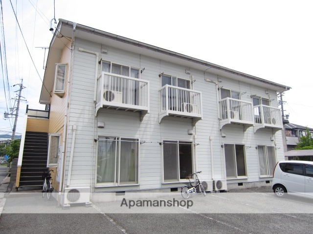 長野県長野市、北長野駅徒歩6分の築26年 2階建の賃貸アパート
