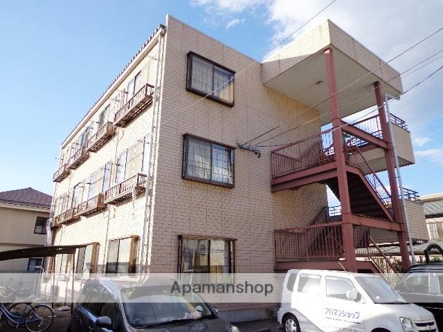 長野県松本市、松本駅バス10分萩町下車後徒歩1分の築22年 3階建の賃貸マンション