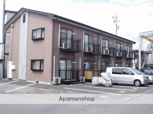 長野県松本市、南松本駅徒歩17分の築19年 2階建の賃貸アパート
