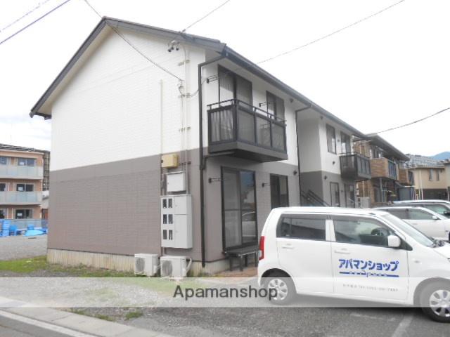 長野県松本市、松本駅バス16分石芝町下車後徒歩12分の築20年 2階建の賃貸アパート