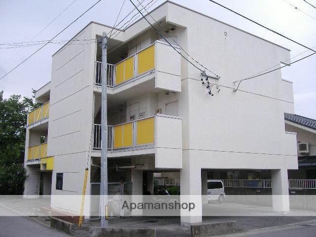 長野県松本市、松本駅バス11分安原町下車後徒歩3分の築31年 3階建の賃貸マンション