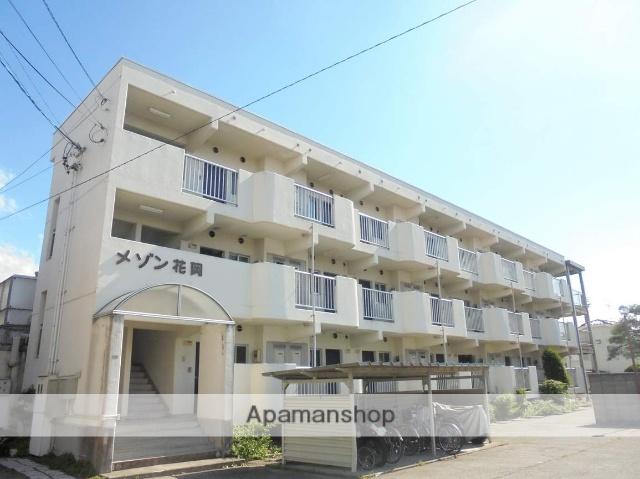 長野県松本市、松本駅徒歩18分の築32年 3階建の賃貸マンション