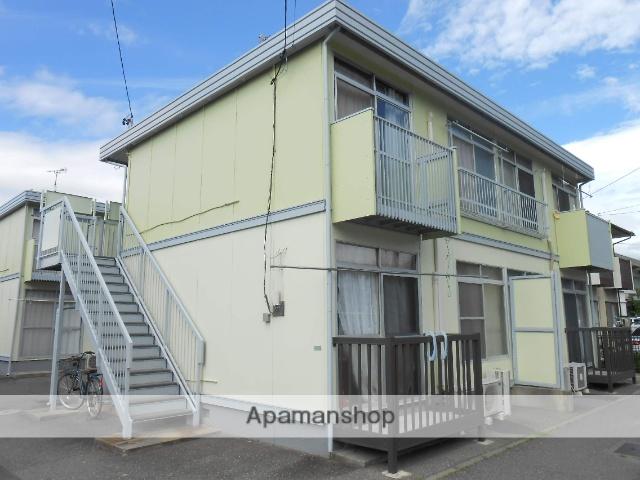 長野県松本市、南松本駅徒歩13分の築37年 2階建の賃貸アパート