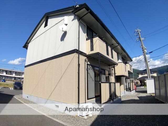 長野県松本市、松本駅バス19分松岡下車後徒歩4分の築21年 2階建の賃貸アパート