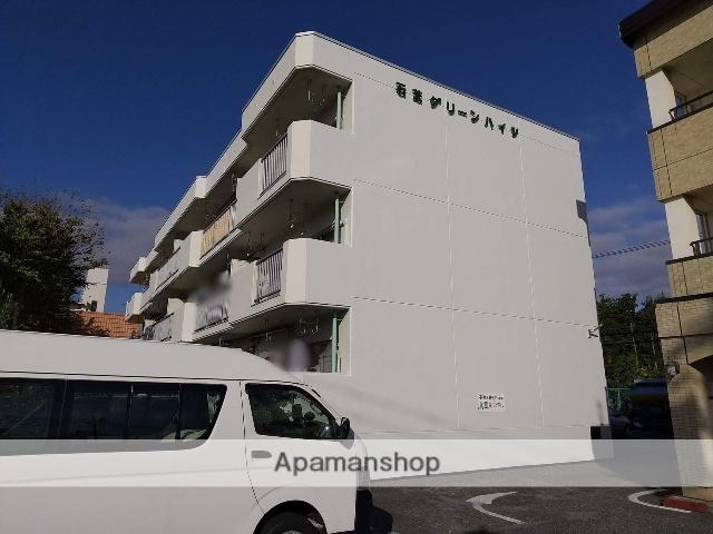 長野県松本市、松本駅バス16分石芝町下車後徒歩1分の築34年 3階建の賃貸マンション