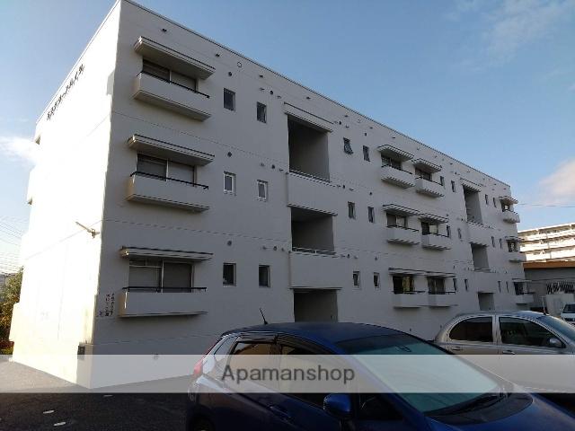 長野県松本市、松本駅バス25分石芝町下車後徒歩3分の築34年 3階建の賃貸マンション