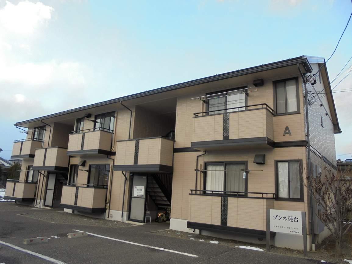 長野県松本市、松本駅バス12分富士電機前下車後徒歩5分の築16年 2階建の賃貸アパート