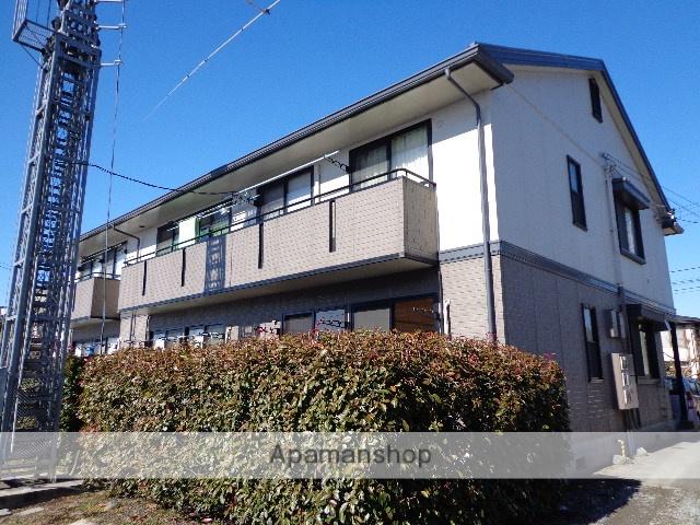長野県松本市、松本駅バス15分筑摩小口下車後徒歩3分の築22年 2階建の賃貸アパート