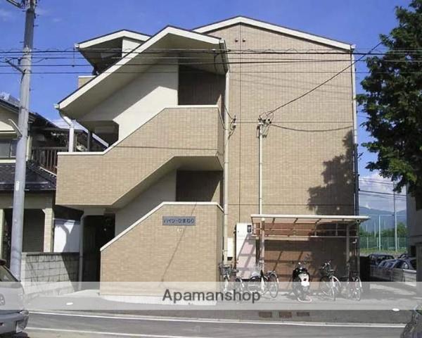 長野県松本市、松本駅バス13分元原町下車後徒歩4分の築19年 3階建の賃貸マンション