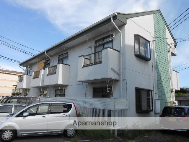 長野県松本市、松本駅バス14分野溝口下車後徒歩9分の築28年 2階建の賃貸アパート