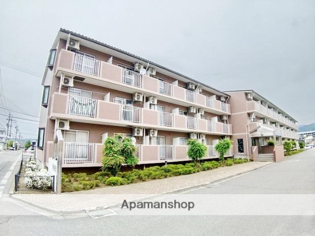 長野県松本市、南松本駅徒歩15分の築22年 3階建の賃貸マンション