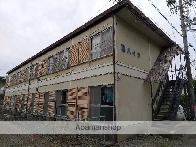 長野県松本市、松本駅バス15分シバウラ下車後徒歩5分の築38年 2階建の賃貸アパート