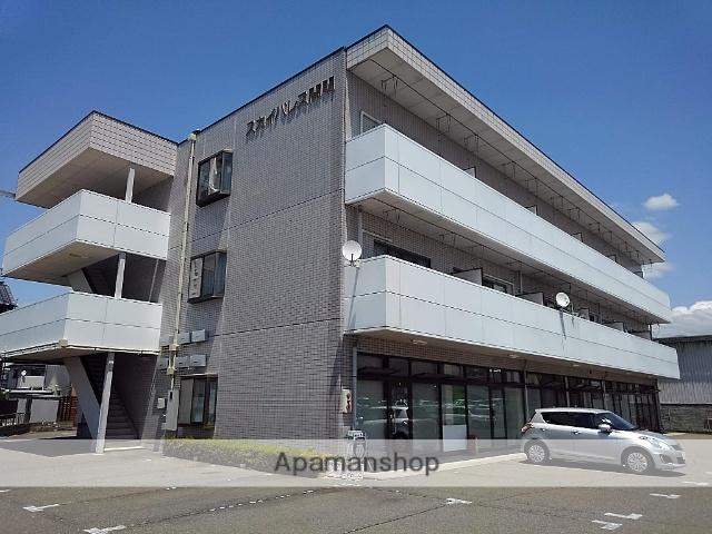 長野県松本市、南松本駅徒歩15分の築25年 3階建の賃貸マンション