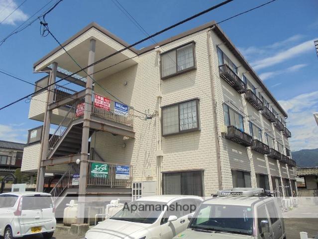 長野県松本市、松本駅バス12分萩町下車後徒歩4分の築22年 3階建の賃貸マンション