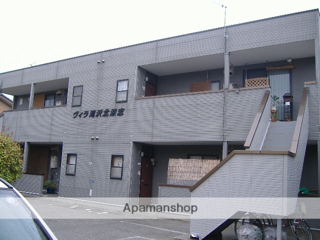 長野県松本市、松本駅バス11分萩町下車後徒歩1分の築38年 2階建の賃貸マンション