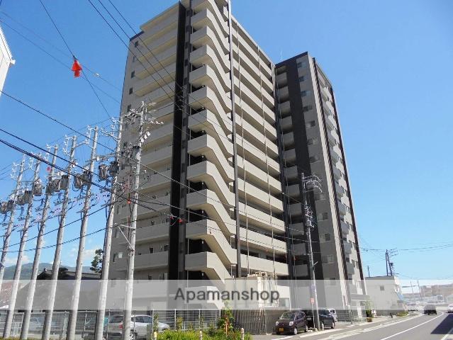 長野県松本市、松本駅徒歩8分の築2年 14階建の賃貸マンション