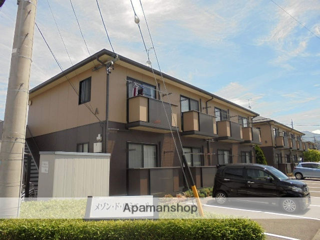 長野県松本市、南松本駅徒歩19分の築17年 2階建の賃貸アパート