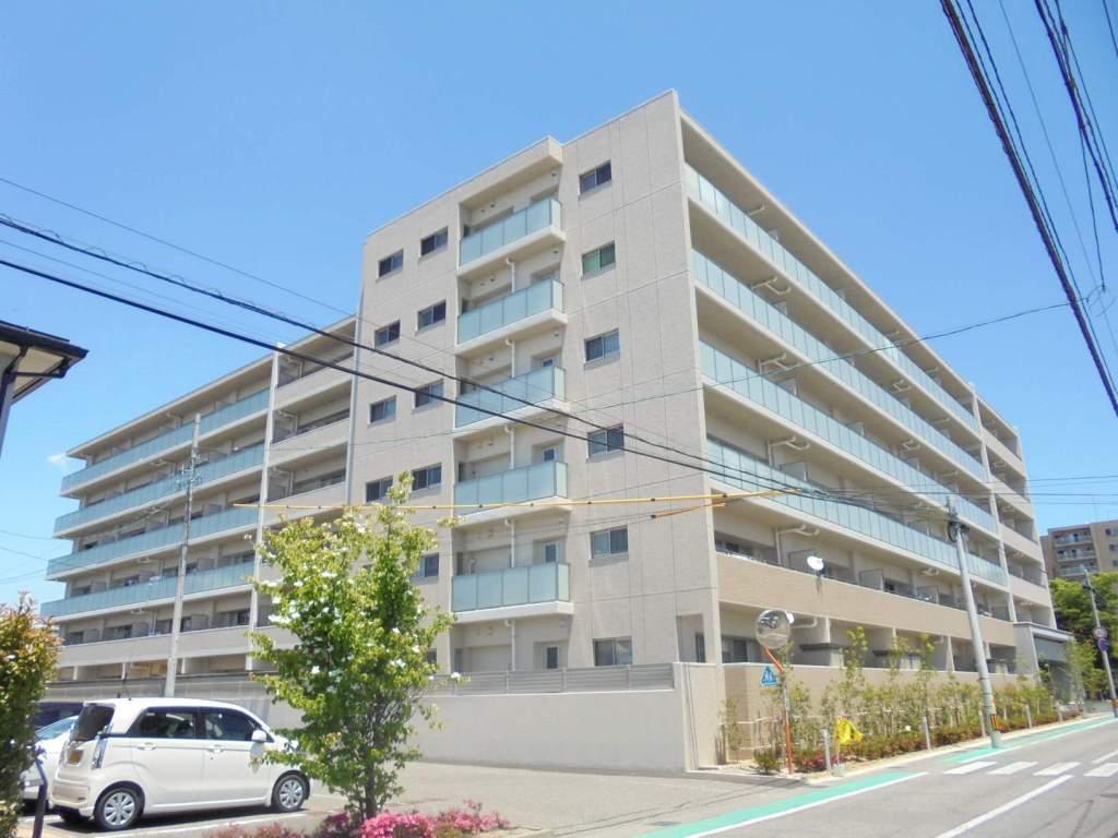 長野県松本市、松本駅バス10分ハローワーク入口下車後徒歩4分の新築 6階建の賃貸マンション