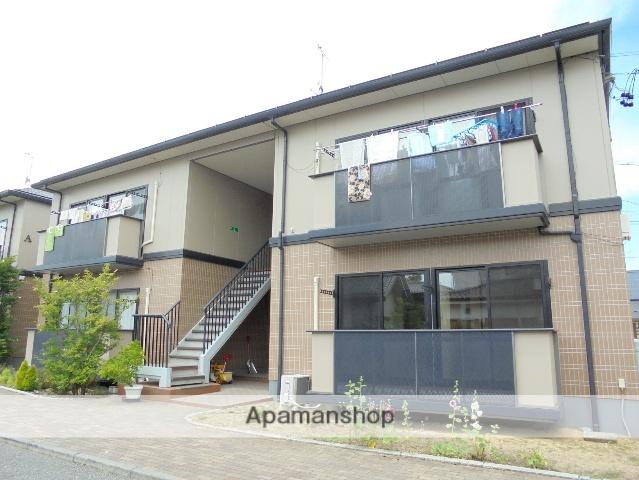 長野県松本市、松本駅バス15分高宮下車後徒歩10分の築17年 2階建の賃貸アパート