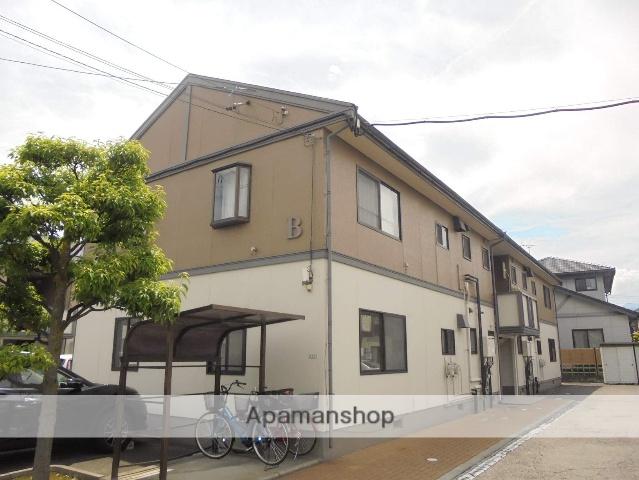 長野県松本市、松本駅徒歩19分の築24年 2階建の賃貸アパート