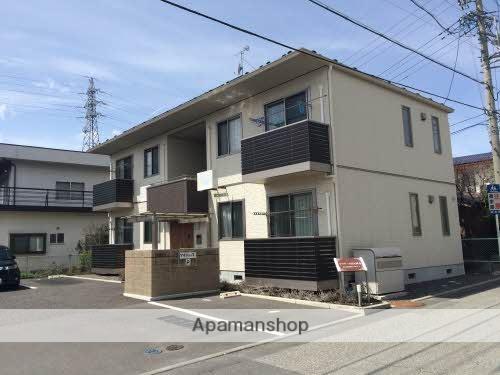 長野県松本市、松本駅バス16分松本第一高校下車後徒歩5分の築6年 2階建の賃貸アパート