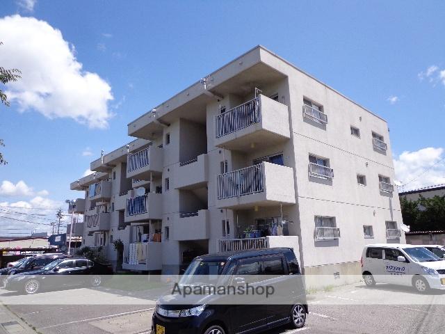 長野県松本市、松本駅バス13分笹部下車後徒歩2分の築32年 3階建の賃貸マンション