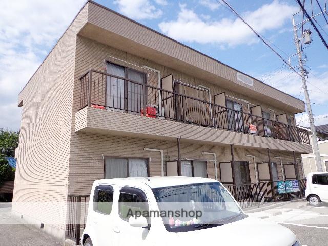 長野県松本市、松本駅バス10分笹部下車後徒歩2分の築22年 2階建の賃貸アパート