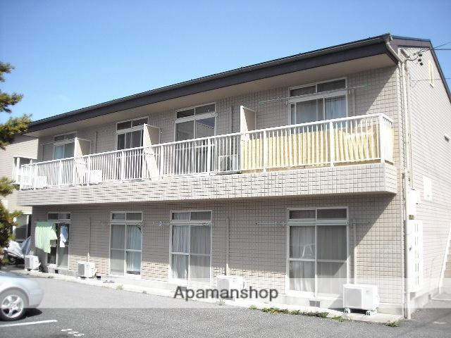 長野県松本市、松本駅バス17分並柳団地口下車後徒歩10分の築23年 2階建の賃貸アパート