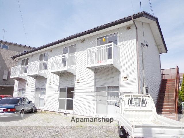 長野県松本市、松本駅バス13分富士電機下車後徒歩8分の築21年 2階建の賃貸アパート