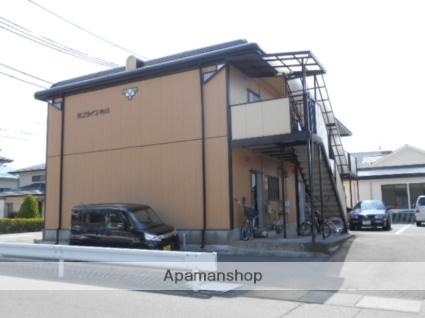 長野県松本市、南松本駅徒歩15分の築21年 2階建の賃貸アパート