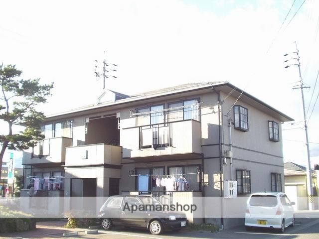 長野県松本市、松本駅アルピコバスバス17分野溝口下車後徒歩10分の築24年 2階建の賃貸アパート