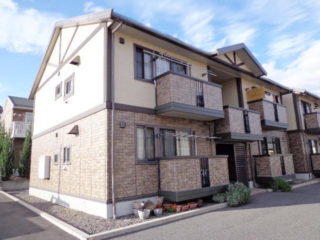 長野県松本市、松本駅徒歩13分の築13年 2階建の賃貸アパート