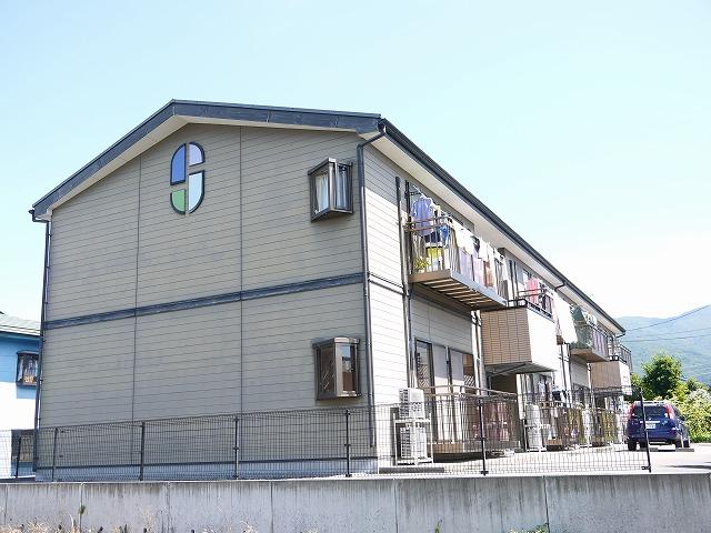 長野県松本市、松本駅バス20分倉田病院前下車後徒歩4分の築15年 2階建の賃貸アパート