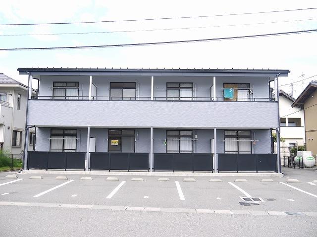 長野県松本市、平田駅徒歩11分の築17年 2階建の賃貸アパート