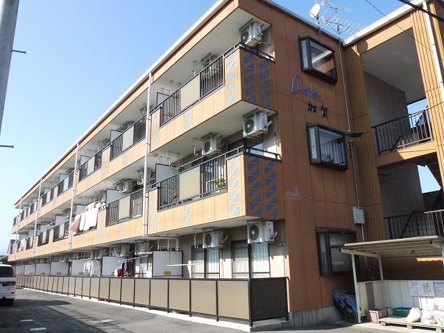 長野県塩尻市、塩尻駅徒歩3分の築19年 3階建の賃貸アパート