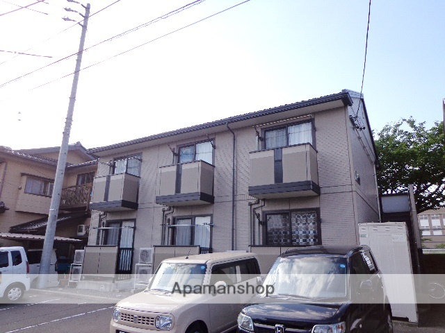 長野県松本市、松本駅徒歩18分の築16年 2階建の賃貸アパート
