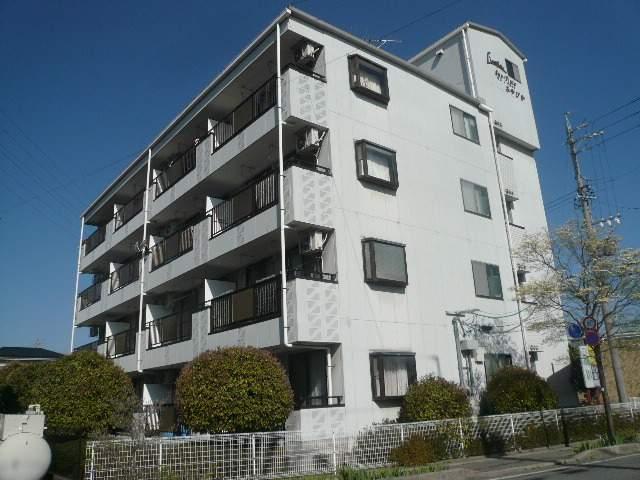 長野県塩尻市、塩尻駅徒歩13分の築21年 4階建の賃貸マンション