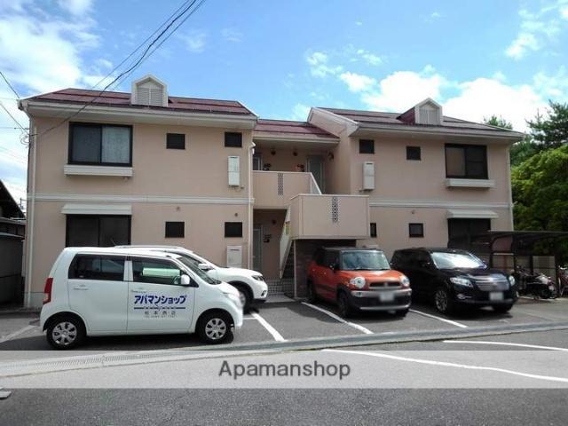 長野県松本市、西松本駅徒歩17分の築24年 2階建の賃貸アパート
