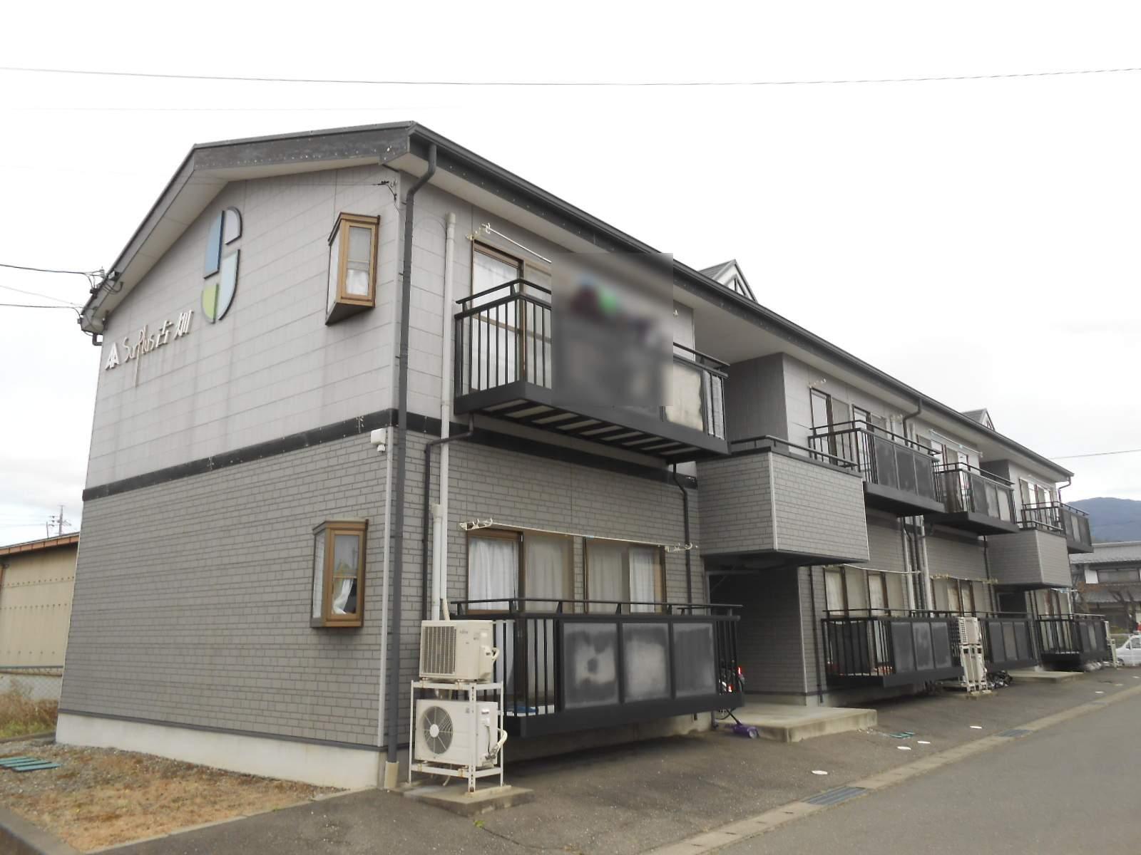長野県松本市、南松本駅徒歩20分の築17年 2階建の賃貸アパート
