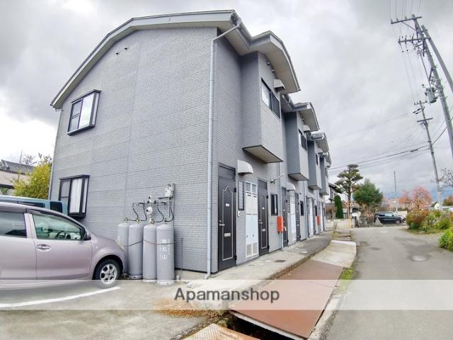 長野県松本市、北新・松本大学前駅徒歩5分の築9年 2階建の賃貸アパート