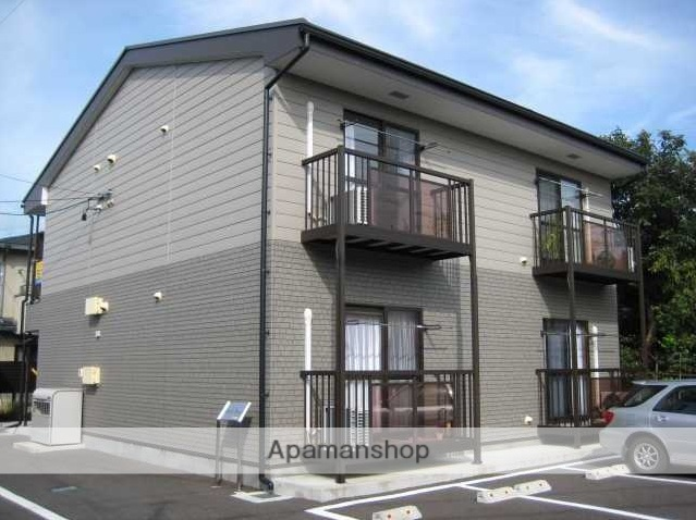 長野県松本市、松本駅バス9分蚕糸公園下車後徒歩5分の築11年 2階建の賃貸アパート