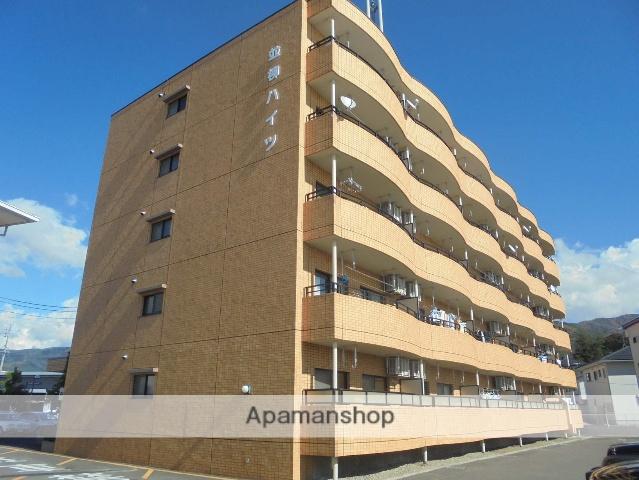 長野県松本市、南松本駅徒歩18分の築25年 5階建の賃貸マンション