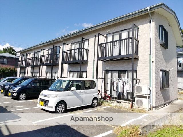 長野県松本市、北新・松本大学前駅徒歩7分の築9年 2階建の賃貸アパート
