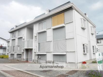 長野県松本市、松本駅徒歩17分の築26年 2階建の賃貸アパート