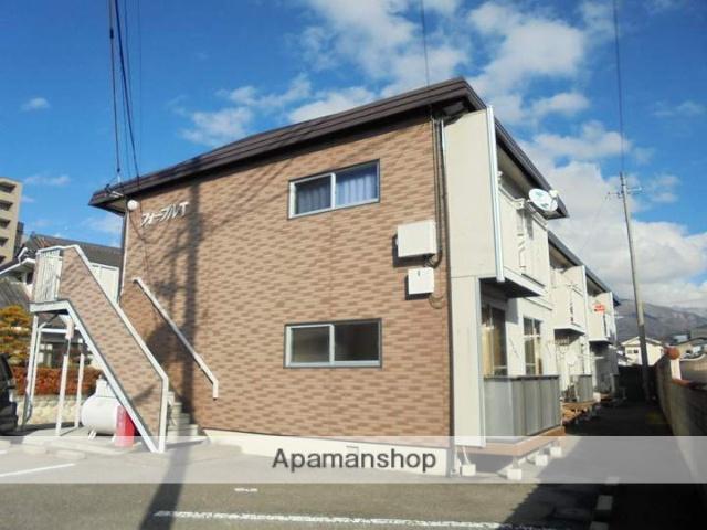 長野県松本市、松本駅徒歩17分の築30年 2階建の賃貸アパート