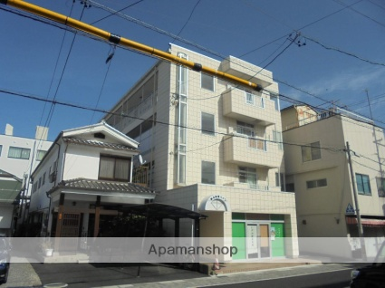 長野県松本市、松本駅徒歩10分の築31年 4階建の賃貸アパート