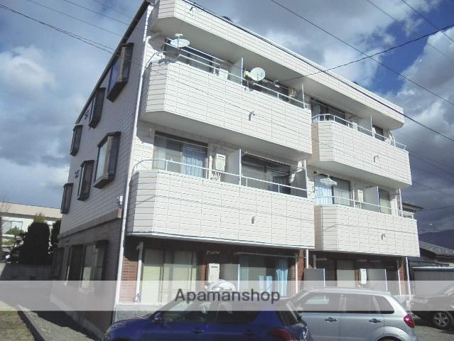長野県松本市、松本駅アルピコバスバス13分笹部下車後徒歩6分の築24年 3階建の賃貸マンション