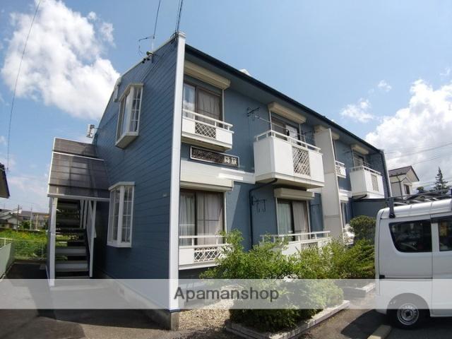 長野県松本市、松本駅バス20分笹部バス停下車後徒歩3分の築27年 2階建の賃貸アパート