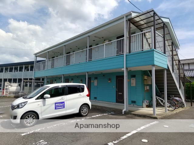 長野県松本市、松本駅バス9分両島下車後徒歩1分の築20年 2階建の賃貸アパート