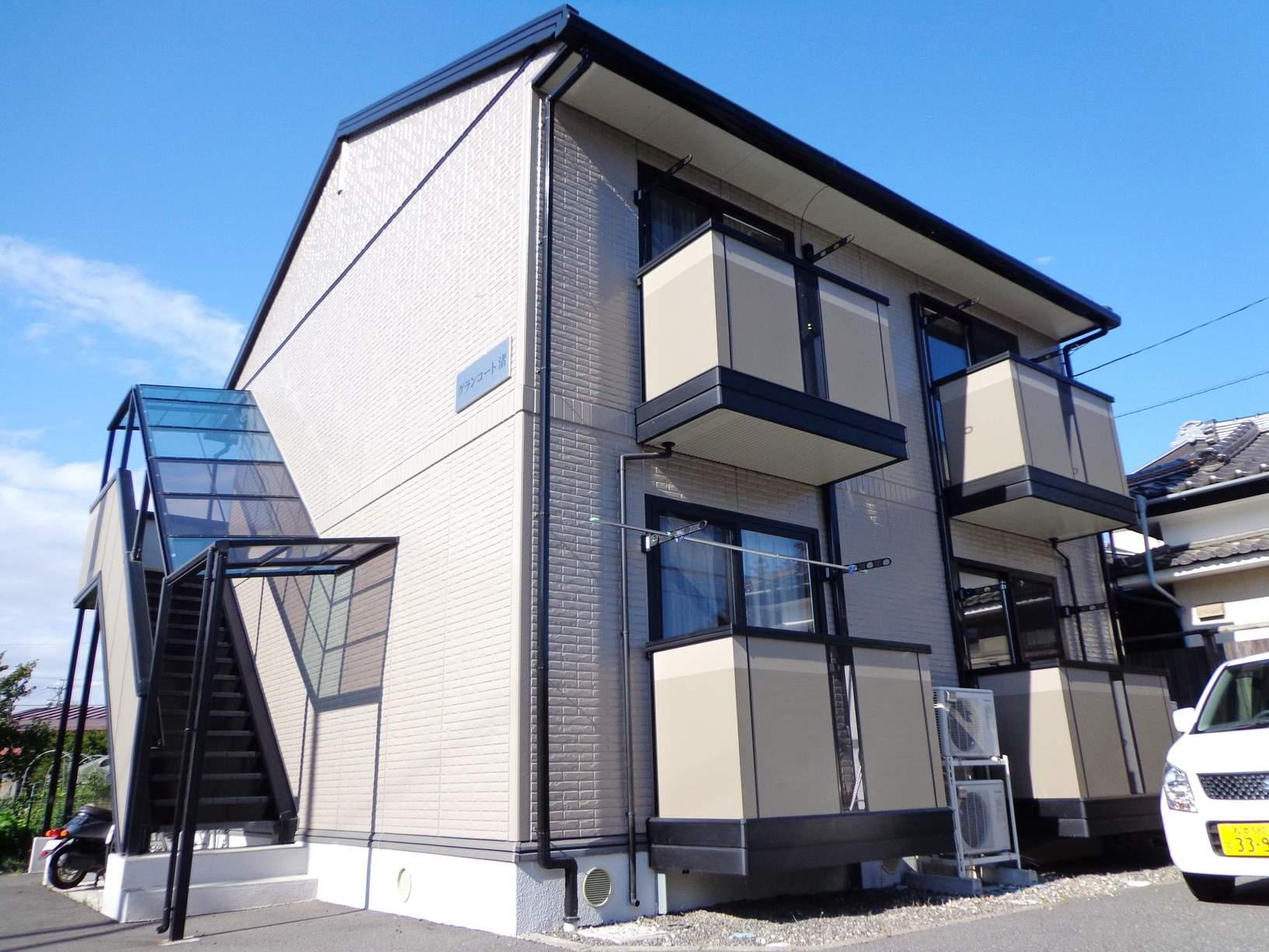 長野県松本市、松本駅徒歩14分の築13年 2階建の賃貸アパート